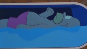 Homer in sens tank