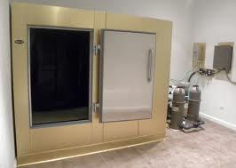 Meat locker looking tank