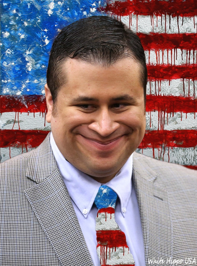 Fat Faced George Zimmerman