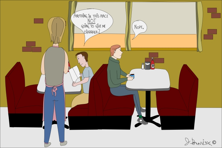 Jimothy- About Diners.