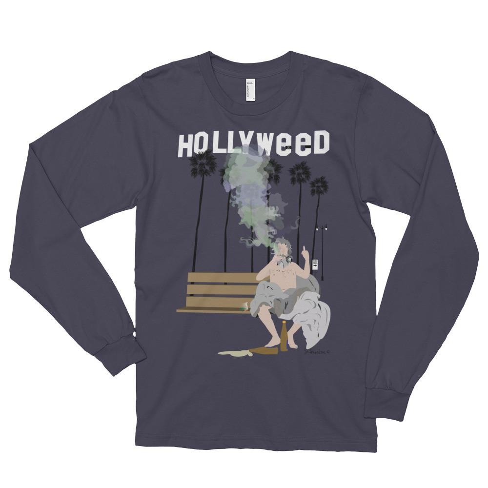 Hollyweed Long Sleeve _ blue