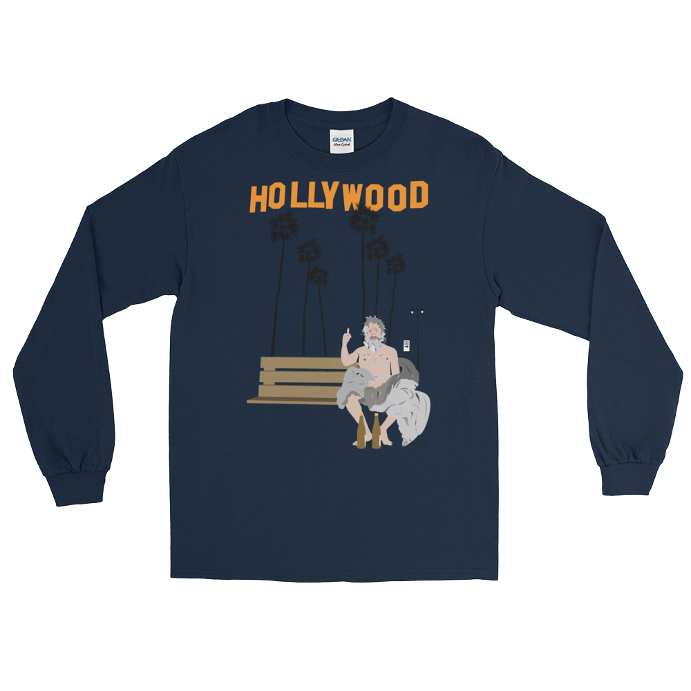 Hollywood Long Sleeve_ Navy