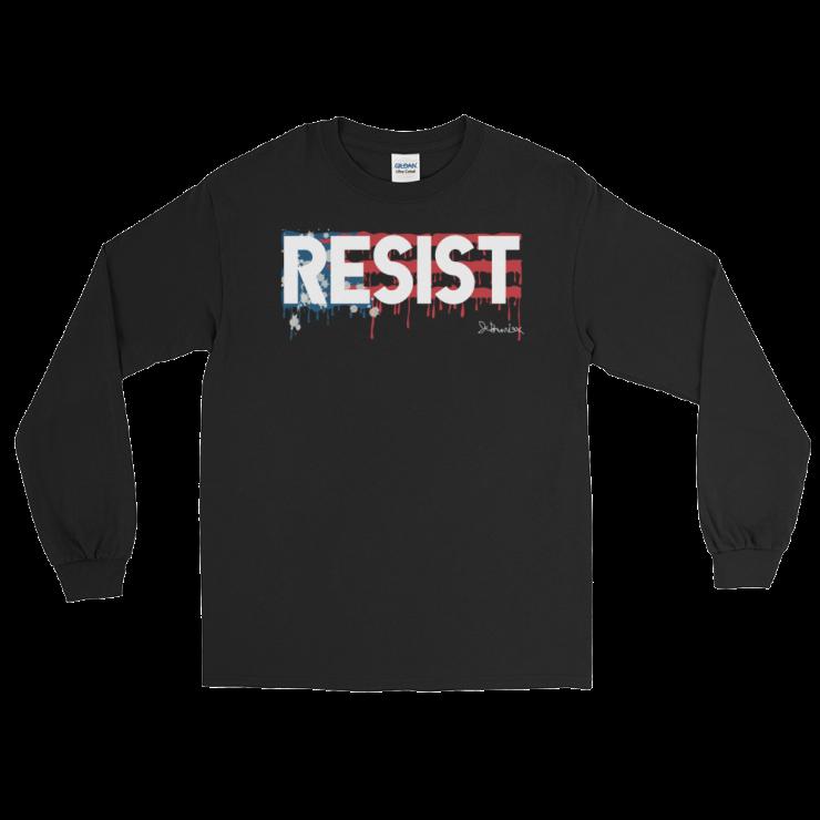 RESIST _ Long Sleeve Black