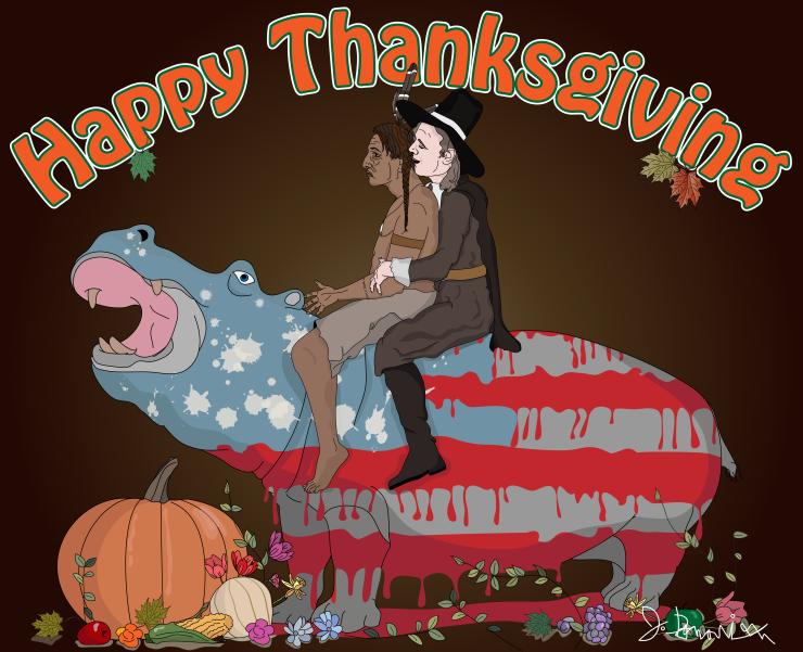 Thanksgiving pilgrim and indian2-01