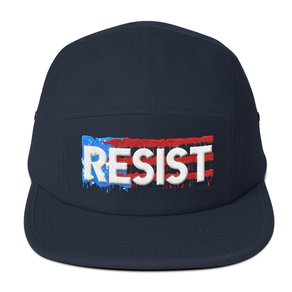 Resist- Five Panel Cap