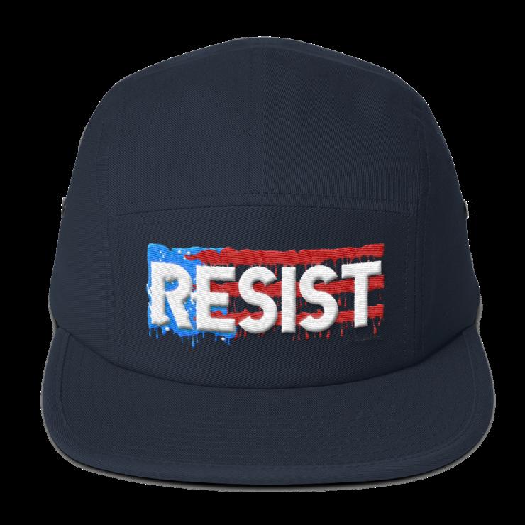 Resist- Five Panel Cap