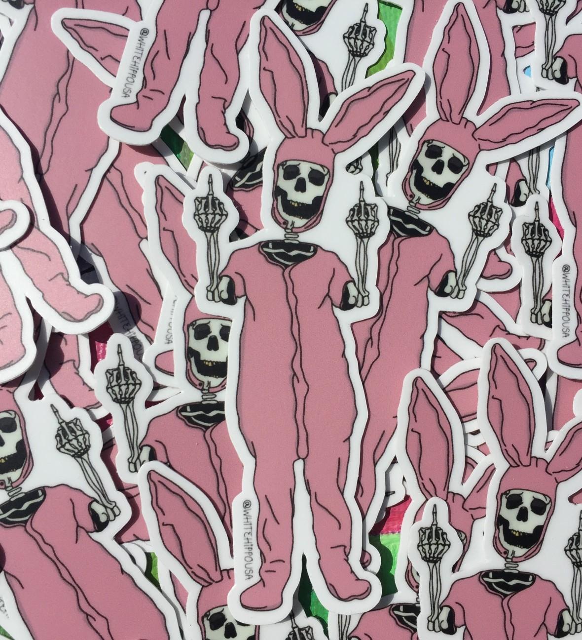 Death Bunny Sticker